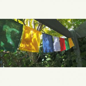 Prayer Flag Buddhist - Good Life