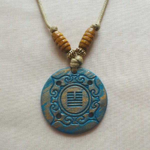 I Ching - Peace/Communication, Aqua