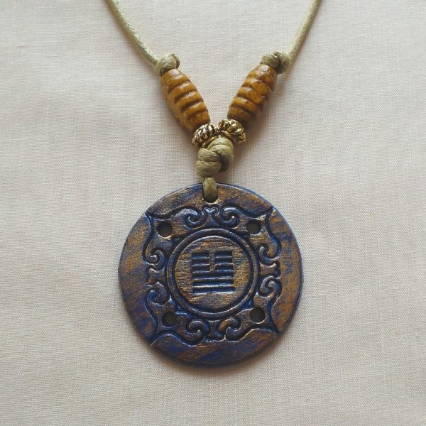 I Ching - Peace and Communication, Dark Blue