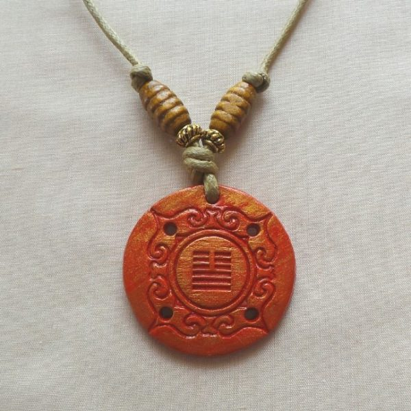 I Ching - Peace and Communication, Orange