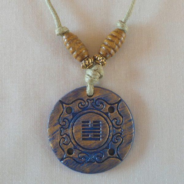 I Ching - Abundance, Dark Blue