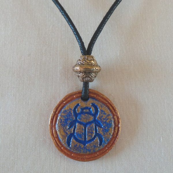 Egyptian Scarab - Blue