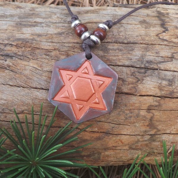 Star of David - Copper/Bronze