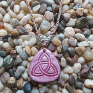 Holy Trinity / The Triquetra - Pink