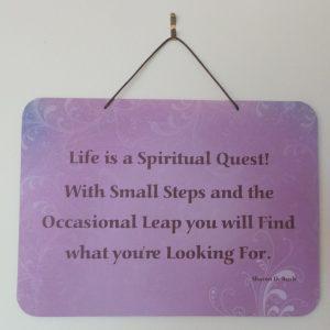 Affirmation: Life - Violet