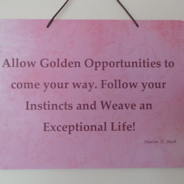 Affirmation: Allow - Pink