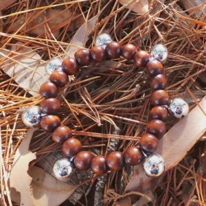 Bell Braclet - Protection and Joy through Sound - Brown