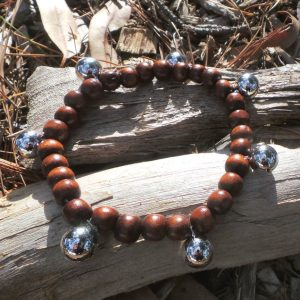 Bell Anklet - Protection and Joy through Sound - Brown