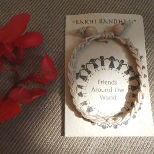 Friendship Bracelet Beige - Fair Trade
