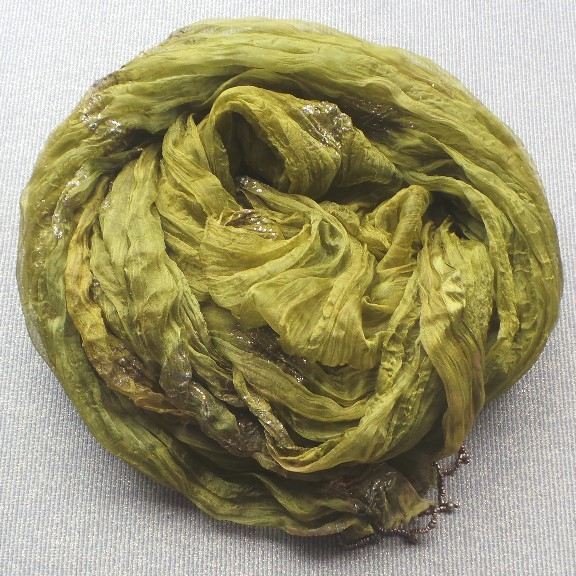 Veil Scarf- Golden Lime & Gold