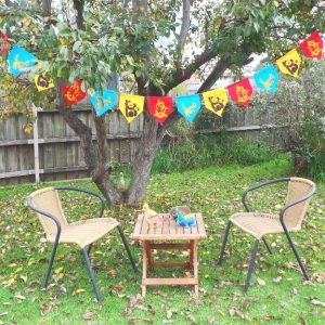 Australian Animal Bunting - Multi Coloured