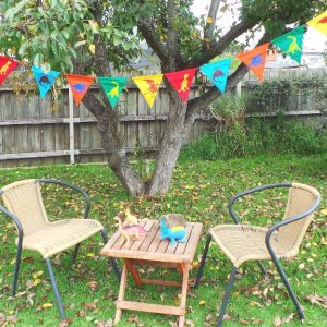 Dinosaur Bunting - Multi Coloured