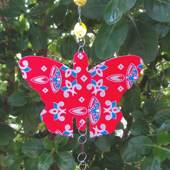 Hanging Christmas Butterfly Decoration