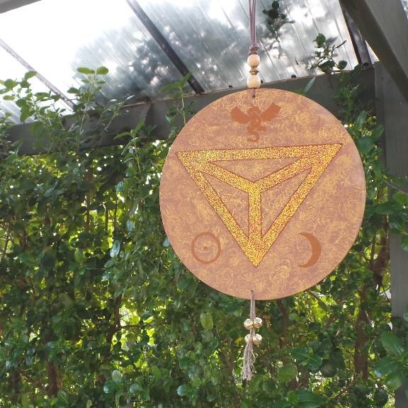 House Symbol/Talisman - Eye of the Dragon: Rust