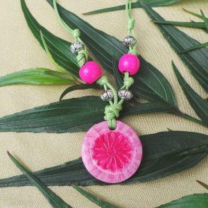 Child's Flower symbol: Pink