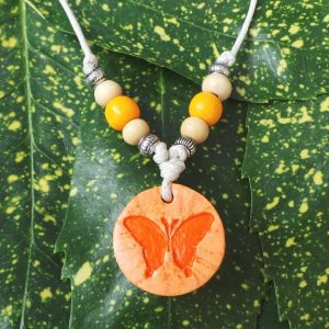 Child's Butterfly Symbol: Orange