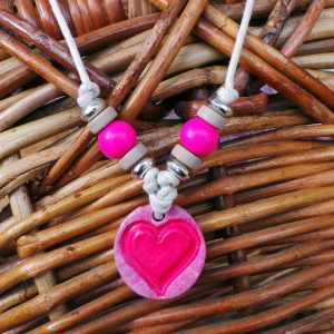 Child's Heart Symbol: Pink