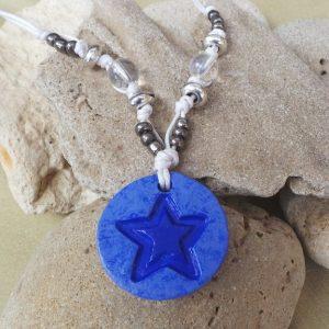 Child's Star Symbol: Blue