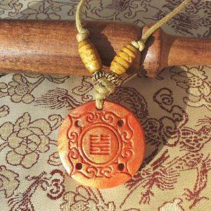 I Ching - Abundance, Orange