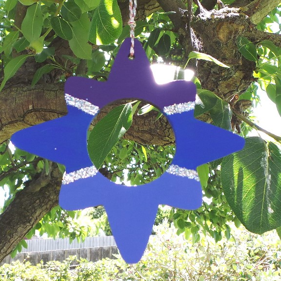 Australian Christmas Star Decoration - Night Sky