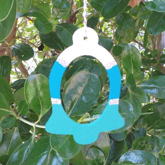 Australian Christmas Bell Decoration – Wild Sea