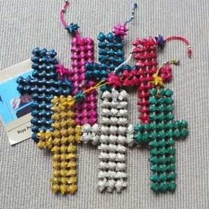 Christmas/Easter Decoration - Palm Cross set 7