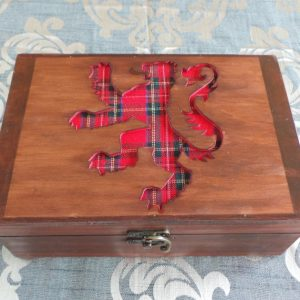 Celtic Keepsake/Jewellery Box - Scottish Lion