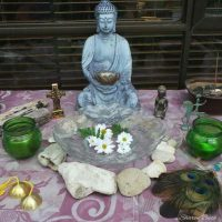 CREATING OR INVIGORATING YOUR OUTSIDE ALTAR
