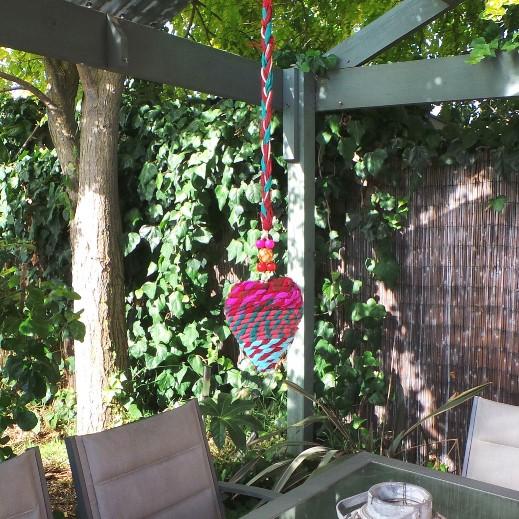 Hanging Heart Decoration: Multi 1