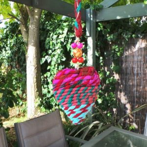 Hanging Heart Decoration: Multi 1