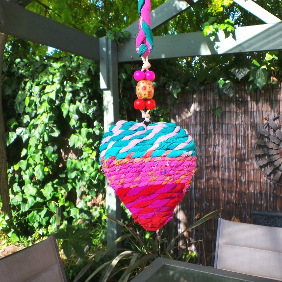 Hanging Heart Decoration: Multi 2