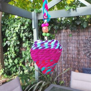 Hanging Heart Decoration: Multi 3