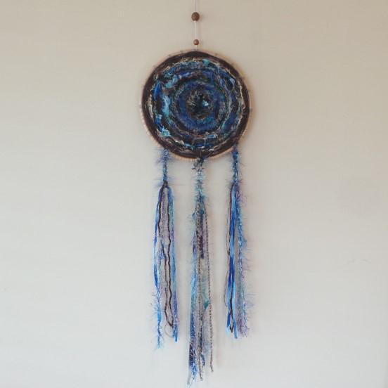 Wind Weaving - Blue & Brown