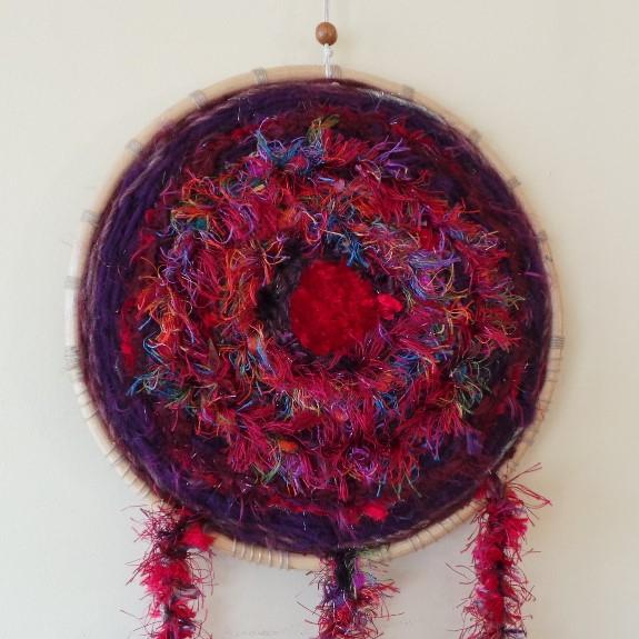Wind Weavingl - Red & Purple