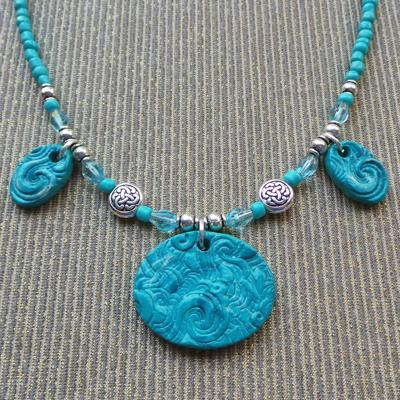 Galway Inspirations Necklace & Earring Set, Ocean