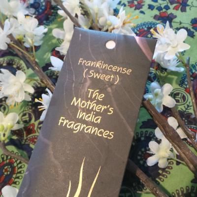 The Mother's Frangances - Frankincense Nagchampa