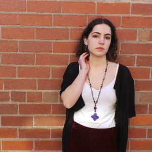 Venetian Inspirations, Long Necklace and Earrings: Purple/Violet
