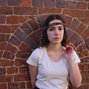 Australia, Indigenous Headband - Plum & Black