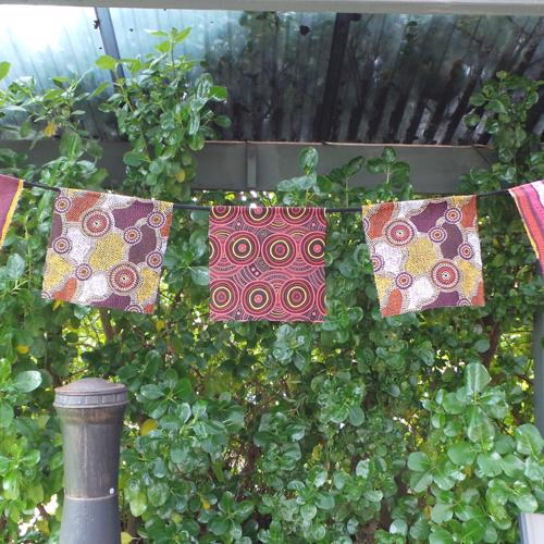 Aboriginal Bunting, Brown/Rust
