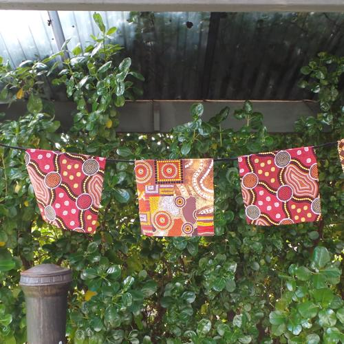 Aboriginal Bunting, Ochre/Rust