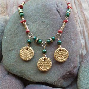 Herculaneum – Ancient Sites, Coral/Gold/Green
