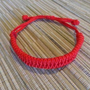 Lucky Chinese Bracelet - Red