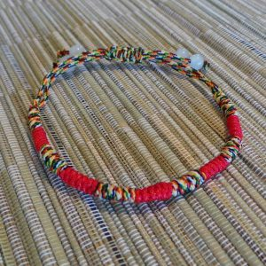 Lucky Chinese Bracelet - Multi/Red